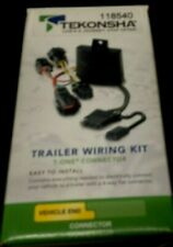 Tekonsha 118540 Trailer Wiring Kit T-One Connector