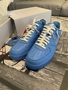 Size 10.5 - Nike Air Force 1 Low '07 x OFF-WHITE MCA 2019