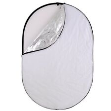 """5in1 110x150cm 40x60"""" Photography Oval Light Reflector Collapsible Photo Studio"""