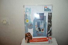 HOUSSE DE COUETTE  COMME DES BETES PET SOCIETY 140X200 CM NEUF COVER + TAIE