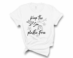 Save The Ocean Shirt, Keep The Sea Plastic Free Shirt, Save the Turtles Tshirt
