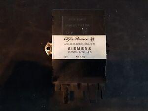 Alfa Romeo 75 Steuergerät ECU Siemens C65110 A135 A5