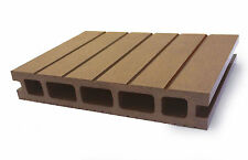 Composite Decking Clarity Autumn Sample Wood Plastic Composite Ecoscape UK WPC
