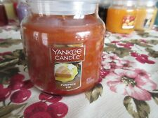 NEW YANKEE CANDLE MEDIUM 14.5 oz JAR - PUMPKIN PIE