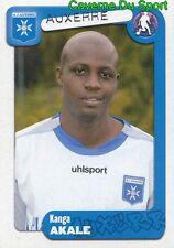 032 KANGA AKALE IVORY COAST AJ AUXERRE FC.ZURICH STICKER FOOT 2005 PANINI
