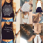 Fashion Summer Women Casual Tank Tops Vest Blouse Sleeveless Crop Tops Shirt