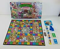 Vintage 1987 Teenage Mutant Ninja Turtles Pizza Power Board Game Complete