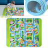 Children's Rugs Town Road Map City Rug Play Village Mat 130x160cm Playmat Kids
