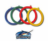 6 Williamson Wind on Rigged Fishing Lure Spool Leader Rig Wheel Organizer Lot