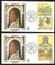 VATICAN CITY # 733-736 FDC Institutions Culture Science