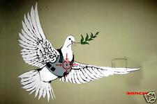"Banksy -Dove on the West bank- 24""x36"" Photo Art Print"
