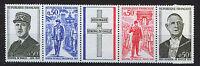 FRANCIA/FRANCE 1971 MNH SC.1322/25a Charles de Gaulle