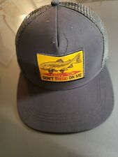 FISHPOND DON'T TREDD ON ME HAT/CAP ONE SIZE IN GREY