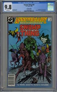 Swamp Thing #50 CGC 9.8 NM/MT Wp 1st Justice League Dark 1 of 1 Canadian Edition