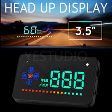 HUD Head UP GPS Speedometer Gauge Digital Display Car Speed Warning Universal AU
