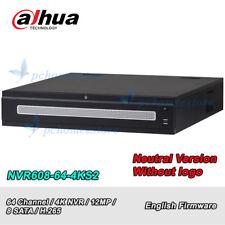Dahua Neutral Version NVR608-64-4KS2 64 Ch 4K NVR H.265 Network Video Recorder