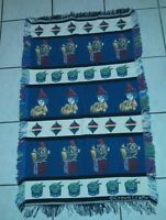 Christmas Crown Crafts Afghan Tapestry Throw Blanket Woven Toys
