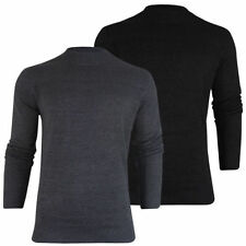 Brave Soul Cotton Patternless Jumpers for Men
