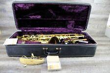 1974 Selmer Tenor Sax Saxophone Mark VI 6 Paris W/Original Case No Reserve