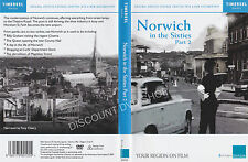 NORWICH IN THE SIXTIES PART 2.   NEW DVD. ORIGINAL ARCHIVE FOOTAGE