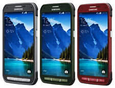 AT&T Unlocked Samsung Galaxy S5 Active G870A 16GB <latest model> Red/Gray/Green