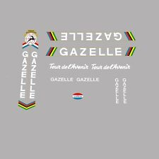 Gazelle Tour de l'Avenir, Transfers, Stickers - White - n.102
