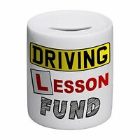 Driving Lesson Fund Novelty Ceramic Money Box