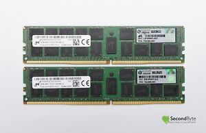 HP Micron 32GB (2 x 16GB) PC4-2133P DDR4 Server Memory 752369-081