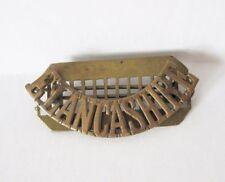 Infantry Pre 1940s Collectable Shoulder Badges
