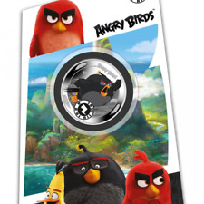 2019 Angry Birds Bomb coin Interactive Mobile Game app on coin!