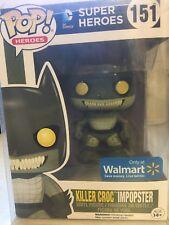 Funko Pop! Heroes Killer Croc Imposter Black Friday Box #151 Walmart Exclusive