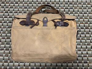 Filson Vintage Original Briefcase Bag 256 -  Talon Zippers!
