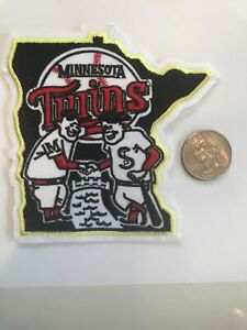 "Minnesota Twins BASEBALL Team Embroidered Iron On Patch  4"" X 4"""