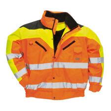Cappotti e giacche da uomo Bomber, Harrington arancione