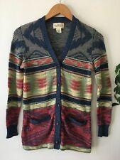 Denim & Supply Cardigan Womens XS Southwest Ralph Lauren Sweater