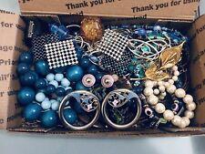 WEARABLE VInTAGE Mod 1-2+ LB Lot Beaded Jewelry Earrings Necklace Bracelet