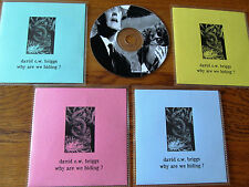 DAVID C.W. BRIGGS - WHY ARE WE HIDING ? LIMITED EDITION CD FRUITS DE MER