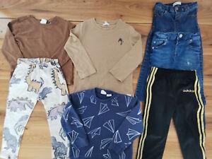 boys 3-4 years bundle autumn winter top jeans joggers ZARA River Island Adidas