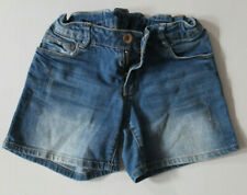 ZARA Girls coole Jeans Shorts Gr. 128 7 8 J. TOP Stretch