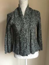 River Island Womens Grey Mix Cardigan With Wool And Alpaca Size 10 (25)
