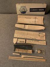 Master Modelcraft Famous Ships Bear Of Oakland 1950s Balsa Wood Model