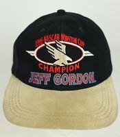 Vintage Jeff Gordon 1995 NASCAR Winston Cup Champion Embroidered Hat Cap USA