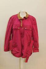 ESCADA SPORT Ladies Fuscia Pink Cotton Long Sleeve Collared Jacket EU44 UK14