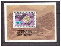 S14429) Grenada Grenadines 1976 MNH Scout S/S