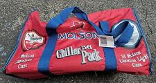 Molson 36 Can Chiller Pack COOLER BAG 2004 BEER ADVERTISING RARE HTF ONLY 1 ON
