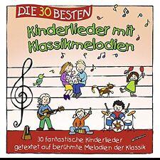 DIE 30 BESTEN KINDERLIEDER MIT KLASSIKMELODIEN   Neu und in Folie!