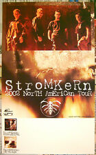 STROMKERN promo POSTER 2002 North American Tour 8-1/2 inch x 14 inch
