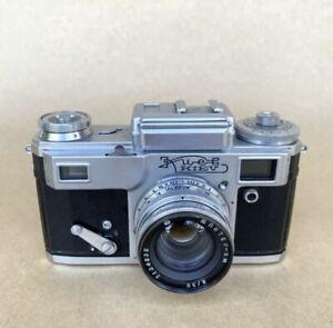 Kiev 4 1971 35mm Rangefinder Film Camera (Contax Copy) USSR W/ 50mm F2, NICE