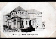 SOLIGNAC (87) CHEVET de l'EGLISE avant 1904