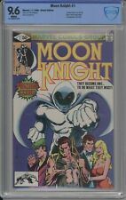 MOON KNIGHT 1 CBCS / CGC 9.6 WHITE 1980 1ST MOON KNIGHT IN OWN TITLE 1ST BUSHMAN